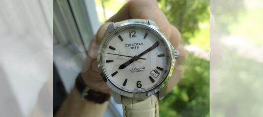 Часы certina Швейцария оригинал механика купить в Санкт-Петербурге на Avito  — Объявления на сайте Авито 77ba16da0c8