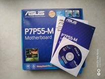 Материнская плата Asus p7p55d-m