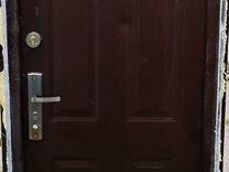 Входная дверь б.у 2050 х 850 левое открывание
