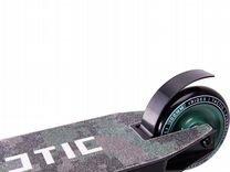 Самокат трюковый Tactic green 100 мм, ridex