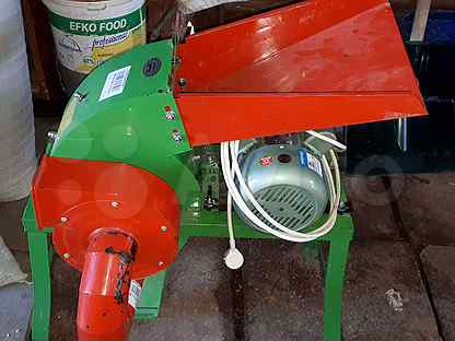 Дробилка для зерна и сена