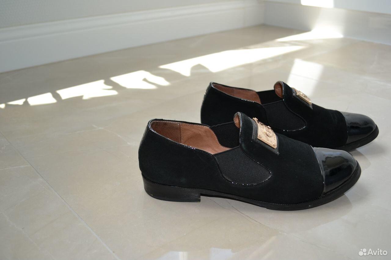 Туфли Лоферы Замша 37 Размер