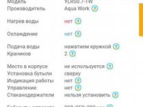 Кулер (водораздатчик) Aqua Work 07-TW