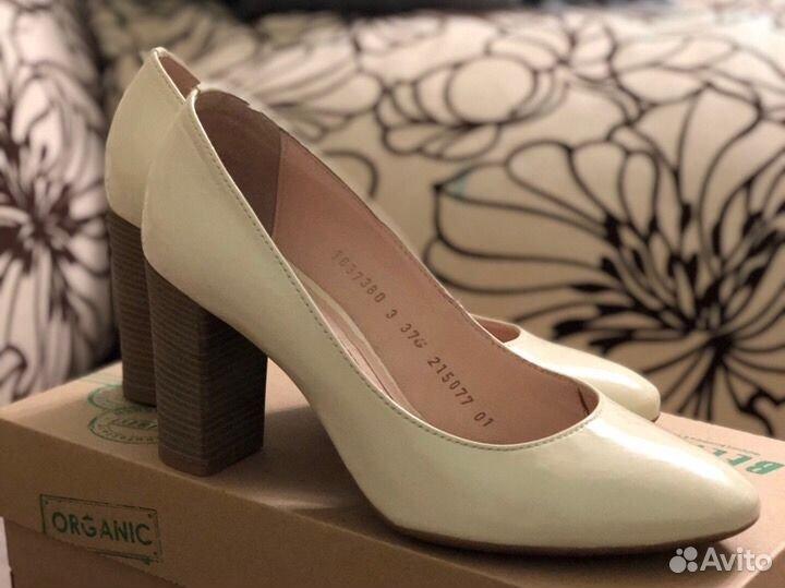 Туфли кожаные лакированые 37 размер  89032636918 купить 1
