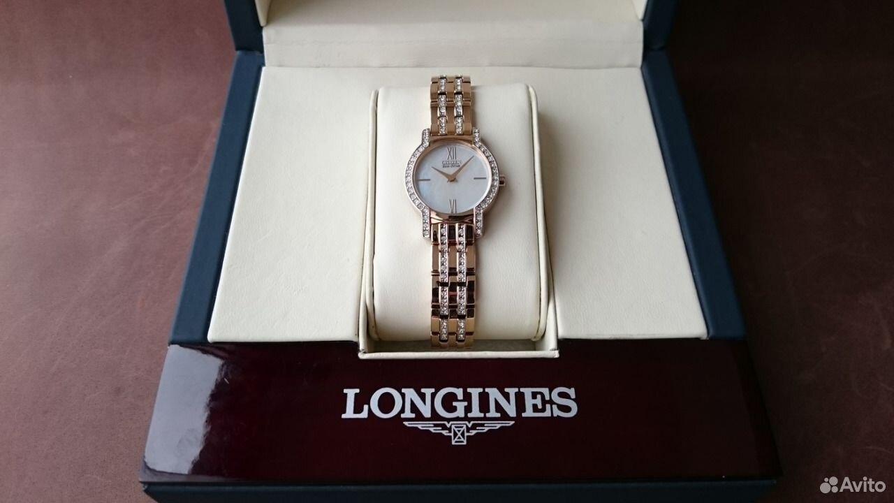 89525003388  Новые Женские часы Citizen Eco-Drive EX1242-56D