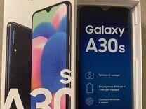 Новый телефон SAMSUNG Galaxy A30s 64GB черный