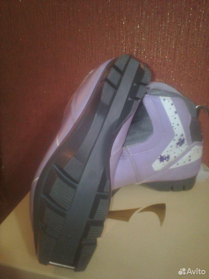 Лыжные ботинки размер 35 в отл. состоянии торг