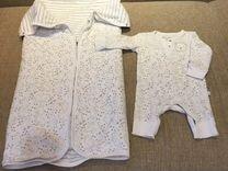 Плед и костюмчик для новорождённого — Детская одежда и обувь в Омске