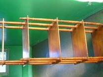 Старинная деревянная этажерка 5 ярусов 40Е-50Е год — Мебель и интерьер в Москве