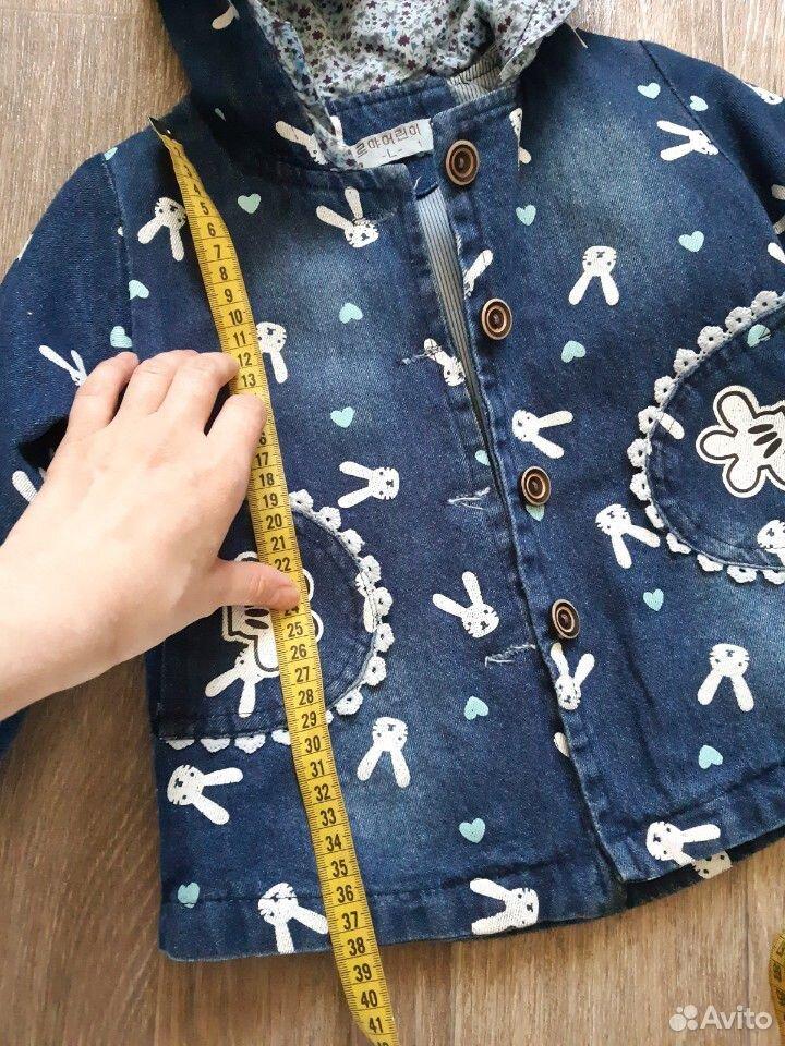 Джинсовая курточка на девочку  89236219223 купить 5