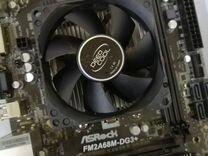 Материнская плата + процессор а6-7400K