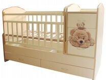 Кроватка-трансформер детская