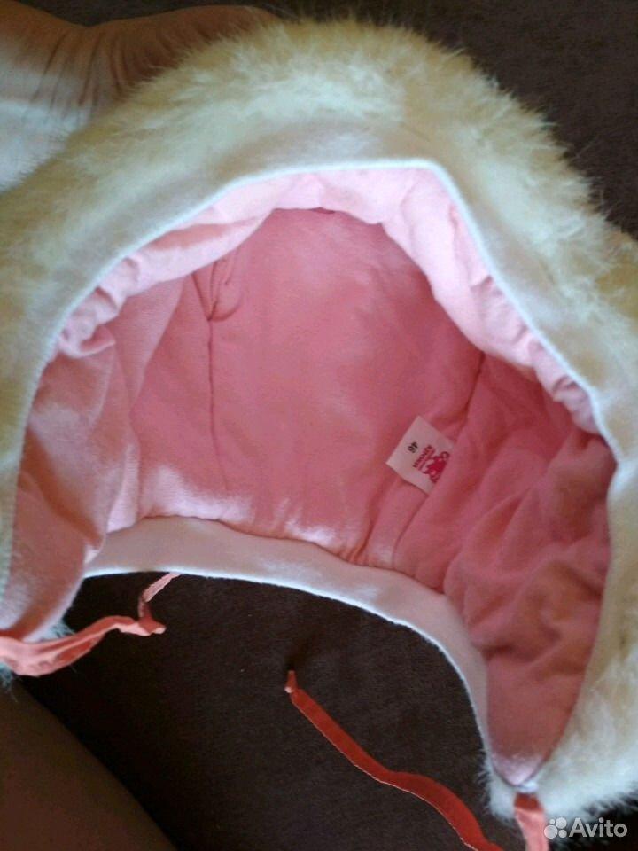 Зимняя шапочка для малышки  89831965010 купить 5