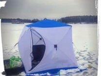 Зимняя палатка куб 2 Медведь теплая
