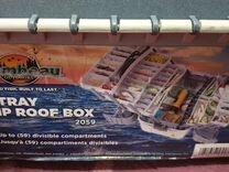 Ящик/бокс рыболовный на 59 мест