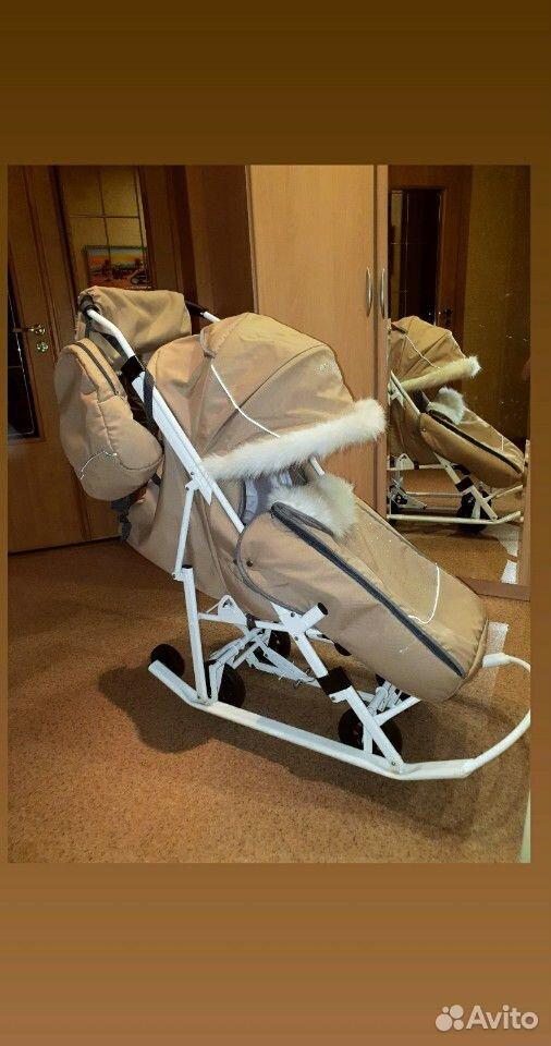 Санки-коляска Pikate  89224306600 купить 3