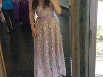 Вечернее элегантное платье