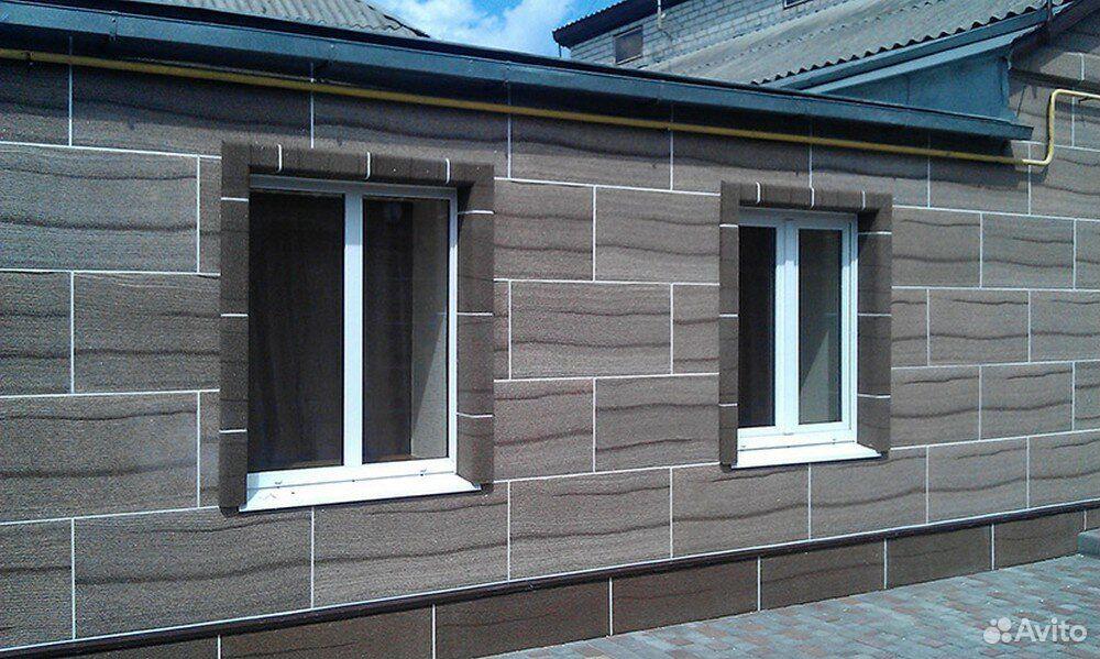 Отделка фасада домов из гибкого камня  89236857665 купить 5