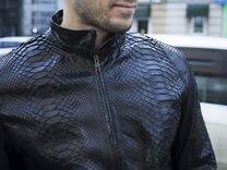 Мужская куртка из кожи питона С.41