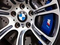 Наклейки на заглушку в диске BMW 60мм