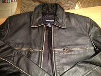 Куртка кожаная; сумка кожа ;
