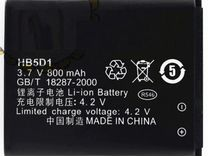 Аккумулятор HB5D1 для Huawei C5110 C5600 C5710