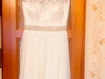 Нарядное короткое платье