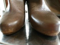 Сапоги демисезонные Donna Karan 36 р — Одежда, обувь, аксессуары в Санкт-Петербурге